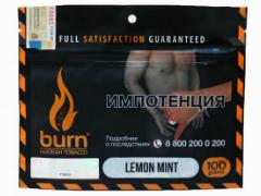 Кальянный табак Burn Lemon Mint 100 gr