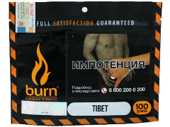 Кальянный табак Burn Tibet 100 gr