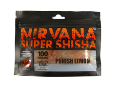 Кальянный табак Nirvana PUNISH LEMON