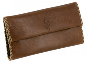 Кисет для сигаретного табака Savinelli T422 Cognac
