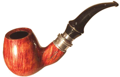 Курительная трубка Lorenzetti Liberta Brown в подарочном боксе с кисетом