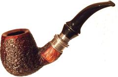 Курительная трубка Lorenzetti Liberta Rustik в подарочном боксе с кисетом