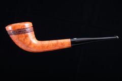 Курительная трубка Mastro De Paja Half-rustic 2D M441-6