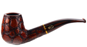 Курительная трубка Savinelli Alligator Brown 628 9 мм