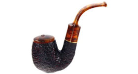 Курительная трубка Savinelli Tortuga Rustic 614 9 мм