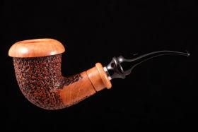 Курительная трубка SER JACOPO Calabash Delecta R1 562-3