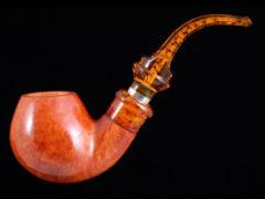 Курительная трубка Ser Jacopo La Fuma Delecta Ambra S472-4