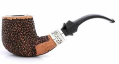 Курительная трубка SER JACOPO Leonardo da Vinci Rustic Bent в шкатулке S623-3