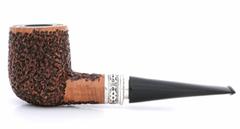 Курительная трубка SER JACOPO Leonardo da Vinci Rustic Straight в шкатулке S623-5
