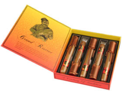 Набор сигар Gurkha Grand Reserve Robusto Natural Cognac