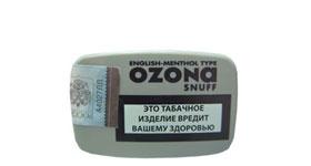 Нюхательный табак Ozona English - Menthol