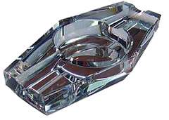 Пепельница Aficionado ASH 2 Crystal на 2 сигары