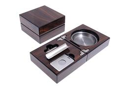 Пепельница сигарная Lubinski с набором, Орех EF2691