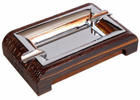 Пепельница настольная Gentili 930-Croco-Brown