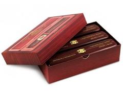 Подарочный набор сигар Bossner Baron (дерево)