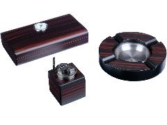 Подарочный набор сигарных аксессуаров Lubinski SET-Q2472-1