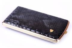 Портсигар Stoll  Черная Змея на 9-11 сигарет  C14-3
