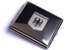 Портсигар Stoll  Стальной на 24 сигареты  C43-4