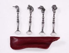 Тампер трубочный серебряный Lubinski «Животные» FP105