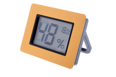 Термо-гигрометр Цифровой Золото 596-521g
