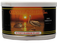Трубочный табак Cornell & Diehl Tinned Blends Sunset Harbor Flake 57 гр.