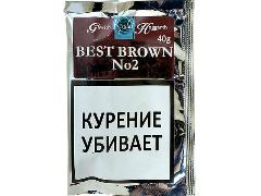 Трубочный табак Gawith Hoggarth Best Brown №2 40 гр.