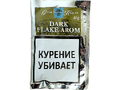 Трубочный табак Gawith Hoggarth Dark Flake Aromatic 40 гр.