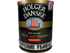 Трубочный табак Holger Danske Black & Bourbon 200 гр.
