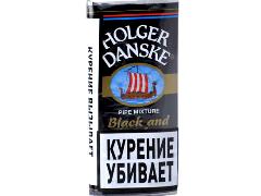 Трубочный табак Holger Danske Black & Bourbon 40 гр.