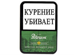 Трубочный табак Peterson Special Reserve 2019