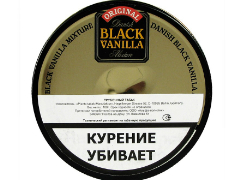 Трубочный табак Planta Danish Black Vanilla Flake 100 гр.