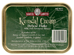 Трубочный табак Samuel Gawith Kendal Cream Deluxe Flake (50 гр.)