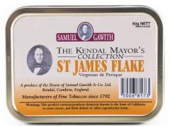 Трубочный табак Samuel Gawith St. James Flake (50 гр.)