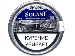 Трубочный табак Solani Aged Burley Flake - Blue Label (blend 369) 50 гр.