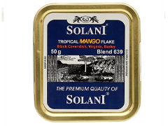 Трубочный табак Solani Aged Burley Flake - Tropical FLAKE  (blend 639) 50 гр.