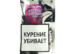Трубочный табак Stanislaw Scottish Autumn Flake 40 гр.