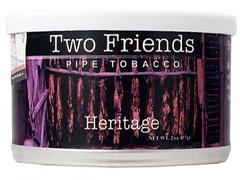 Трубочный табак Two Friends Heritage 57 гр.
