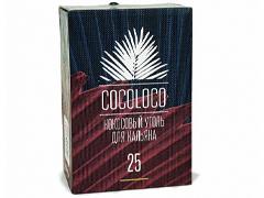 Уголь для кальяна COCOLOCO (25mm) - 1KG - 72 BRICKS