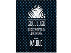 Уголь для кальяна COCOLOCO KALOUD - 1KG - 82 BRICKS