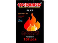 Уголь для кальяна кокосовый СОСОBRICO 108 куб.