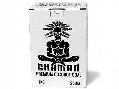 Уголь для кальяна SHAMAN (25mm) - 1KG - 72 BRICKS