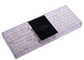 Увлажнитель Прозрачный Акриловый на 75 сигар 595-531