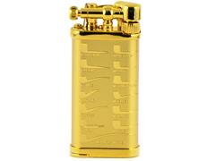 Зажигалка трубочная Im Corona - 64-5415 - Old Boy Gold Plated Pipe Design