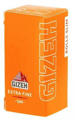 Бумага для самокруток Gizeh Rolls Slim Extra Fine 5м вид 1