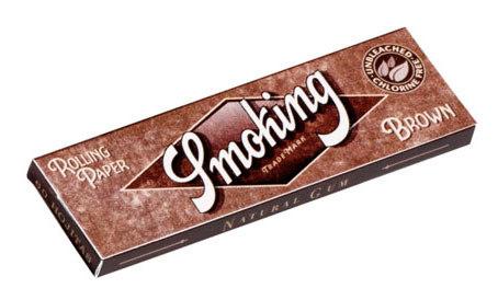 Бумага для самокруток Smoking Brown вид 2