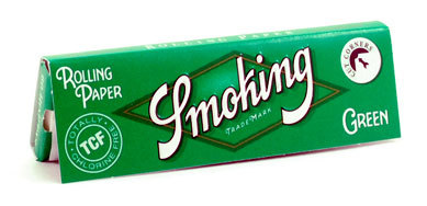 Бумага для самокруток Smoking Green вид 1