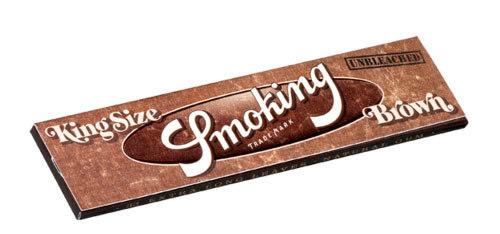 Бумага для самокруток Smoking King Size Brown вид 1