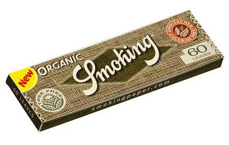 Бумага для самокруток Smoking Organic вид 1