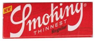 Бумага для самокруток Smoking Thinnest вид 1