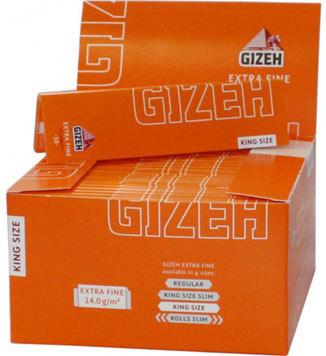 Бумага для самокруток Gizeh Extra Fine King Size 33 вид 1